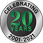 20 Year Celebration Logo